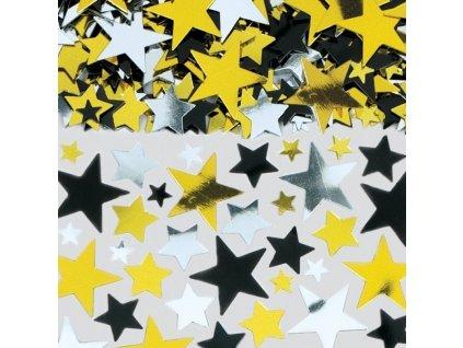 konfety zlate stribrne cerne 71 g