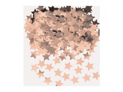 konfety hvezdy ruzovo zlate 14 g