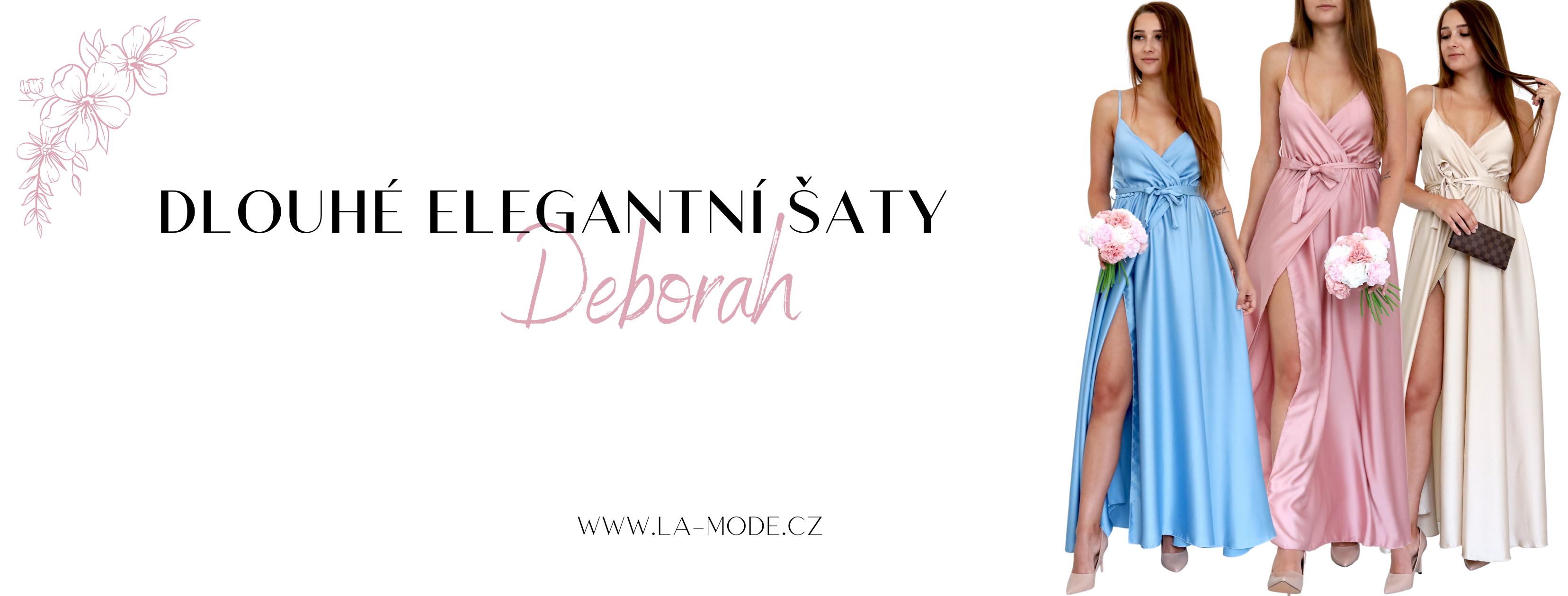 Dlouhé šaty Deborah