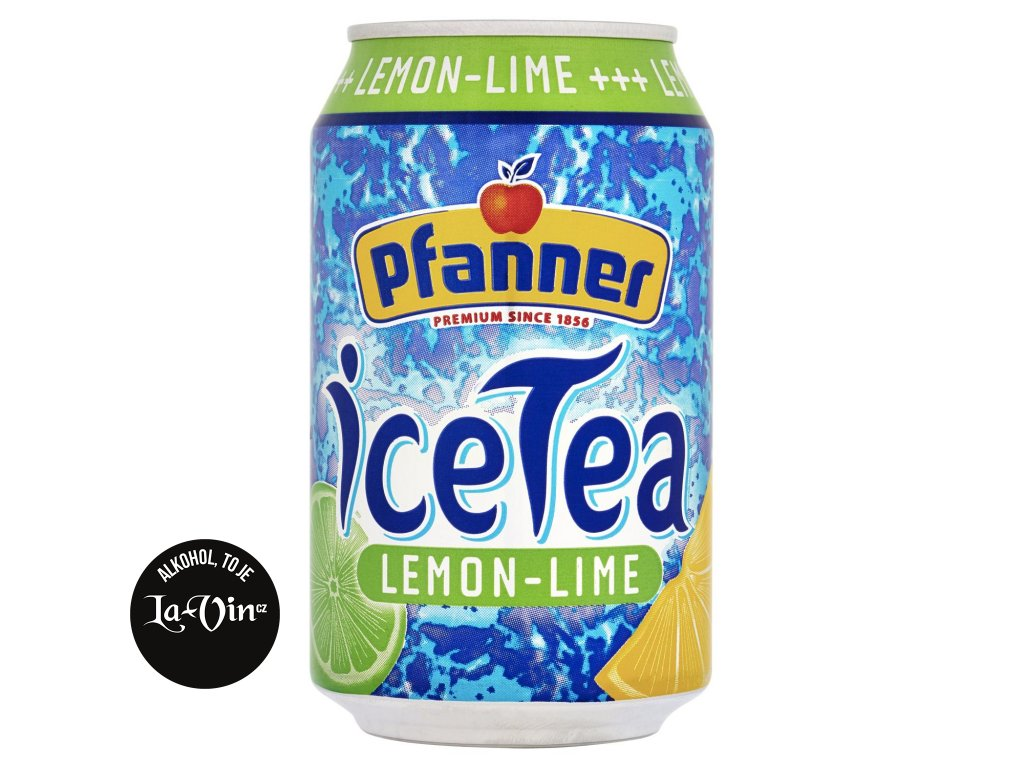Pfanner Ice Tea citron plech 0,33l