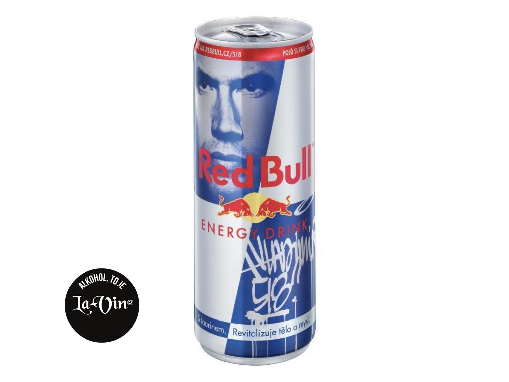 RED BULL ENERGY DRINK 0,25L PLECH