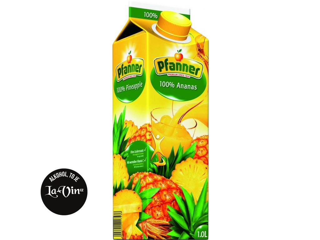 PFANNER  100 % Ananas  1 L