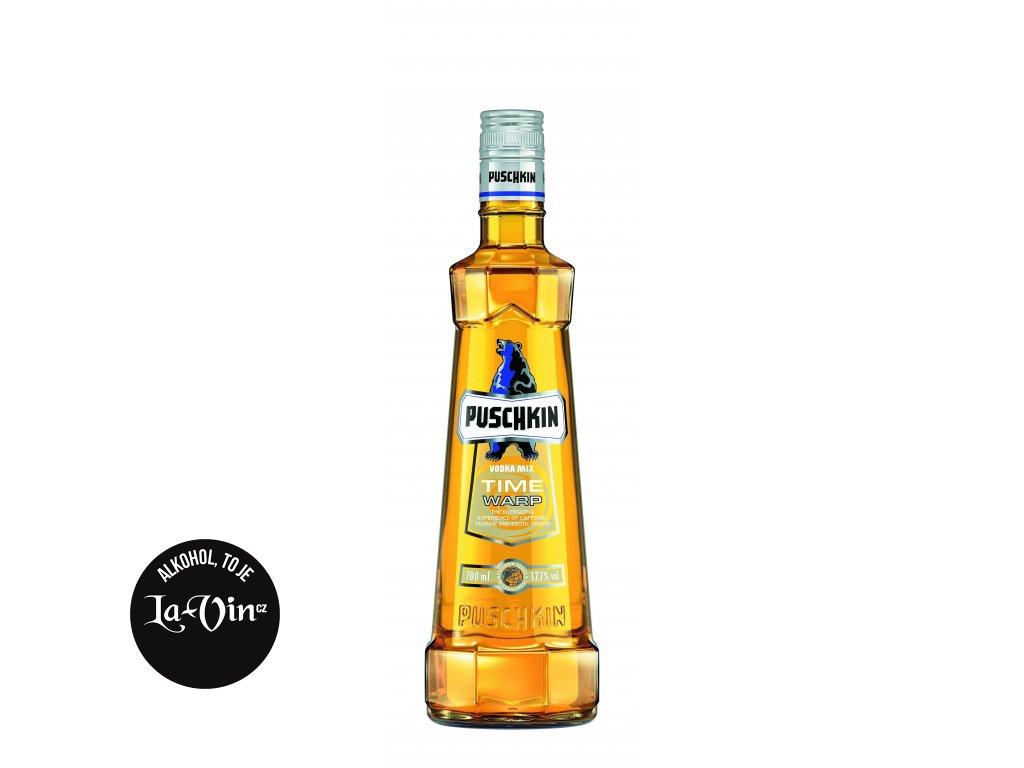 Vodka Puschkin Time Warp 1L 17.5%