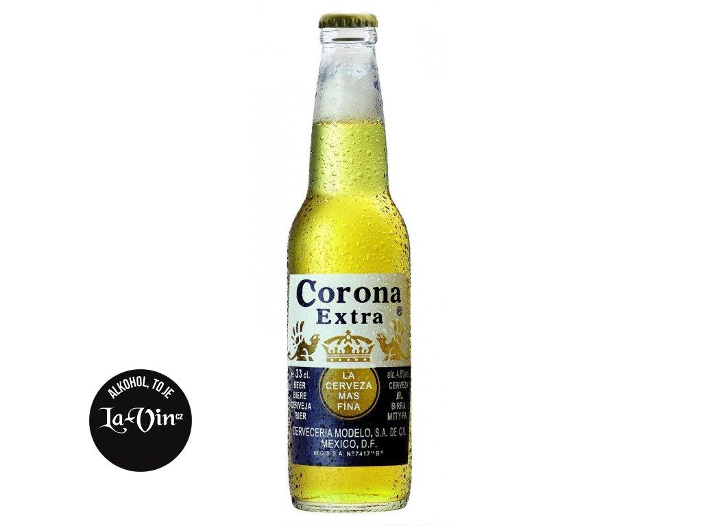 CORONA EXTRA PIVO MEXICO SKLO 0,33L