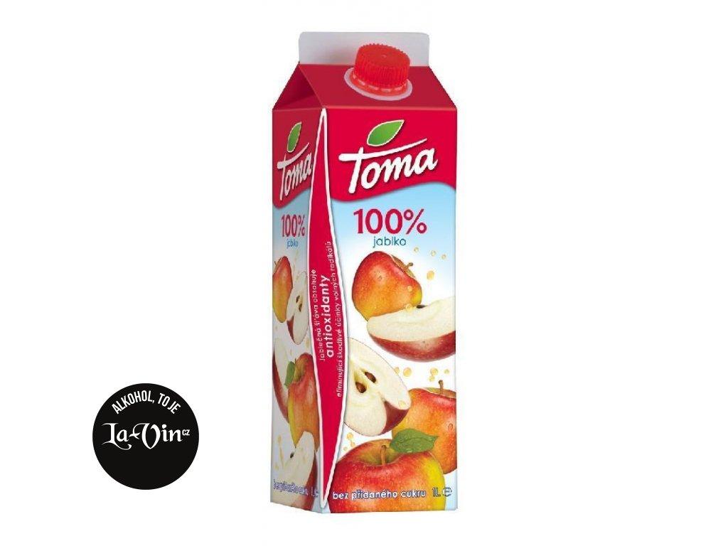 TOMA  100% Jablečná šťáva 1 L