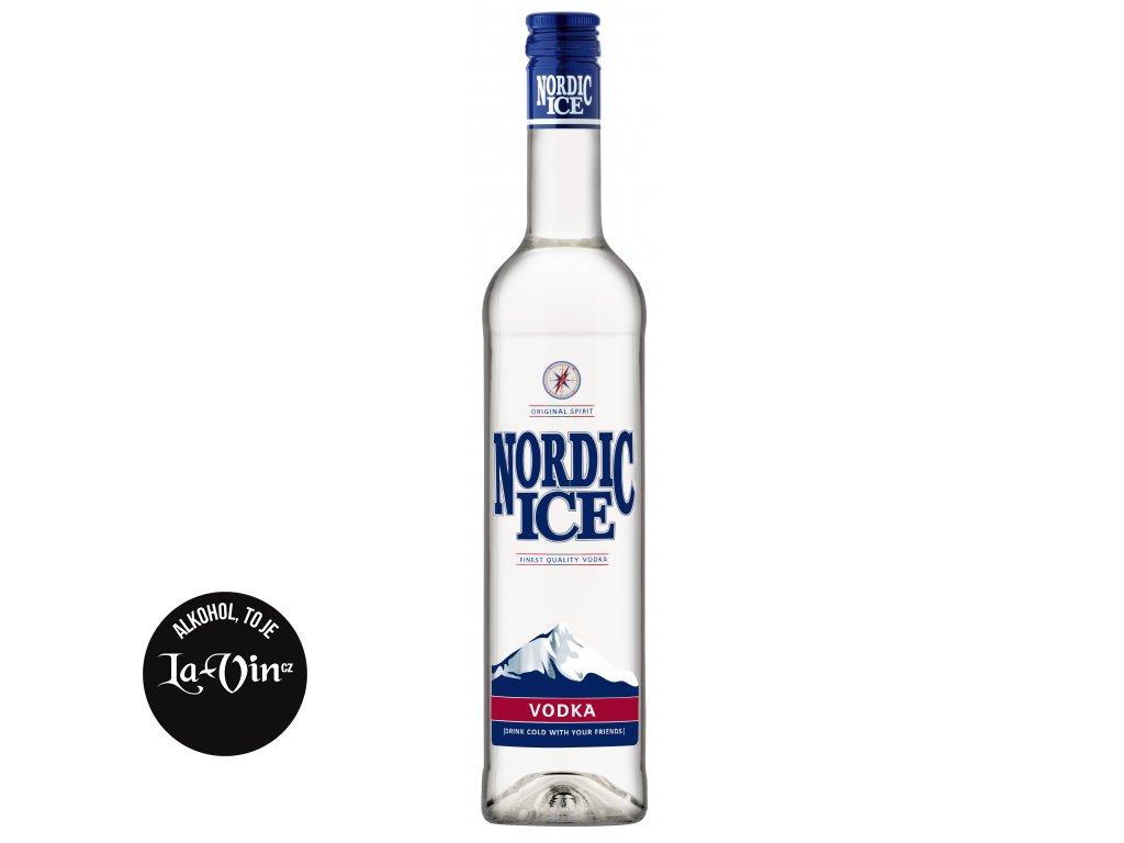 VODKA NORDIC ICE DYNYBYL 0,5L