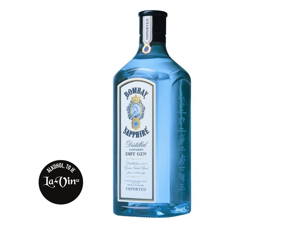 Bombay Sapphire 700 ml, 40% alk.