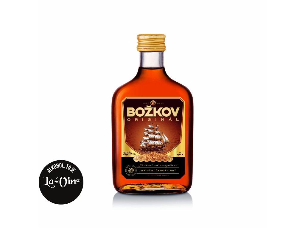 Rum Tuzemský Božkov 37,5% 0,197 l Placatice