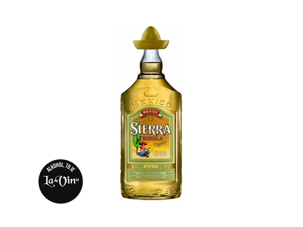 SIERRA Tequila Gold 0,7l