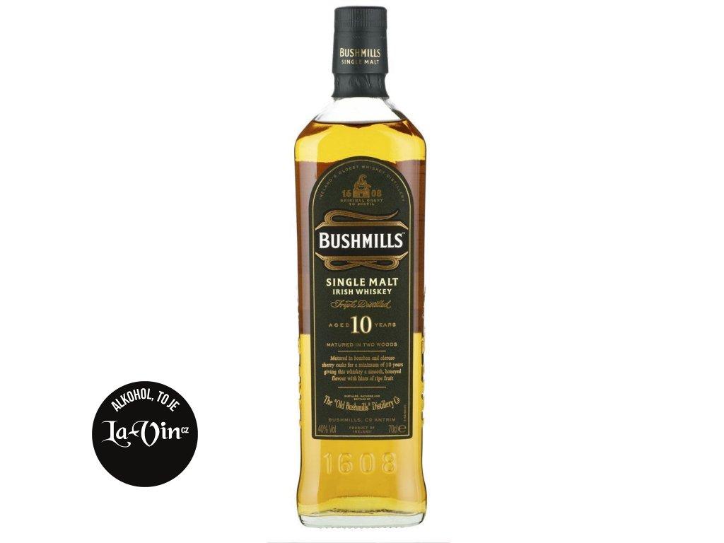 BUSHMILLS IRIS Single Malt 10 Y Whiskey