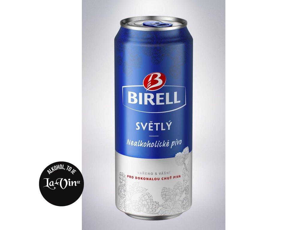 Birell nealko plech 0,33l