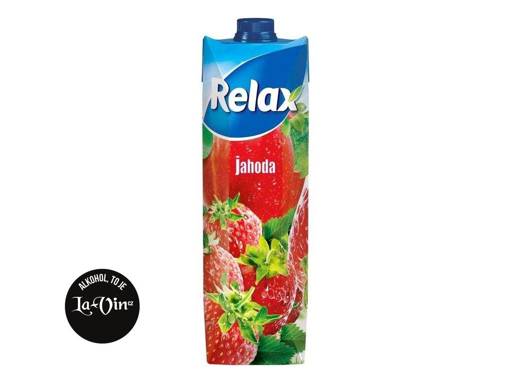 RELAX PREMIUM Jahoda s dužinou  44 %  1 L