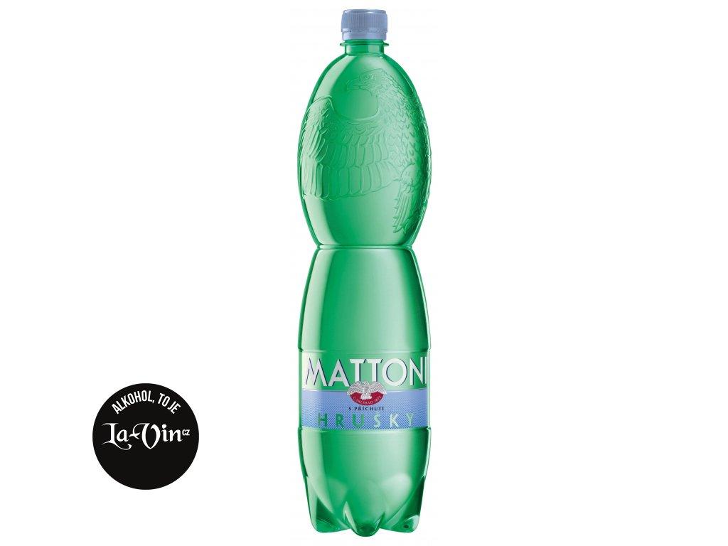 MATTONI  HRUŠKA  1,5 L