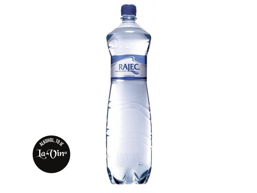 RAJEC Neperlivá voda 1,5 L