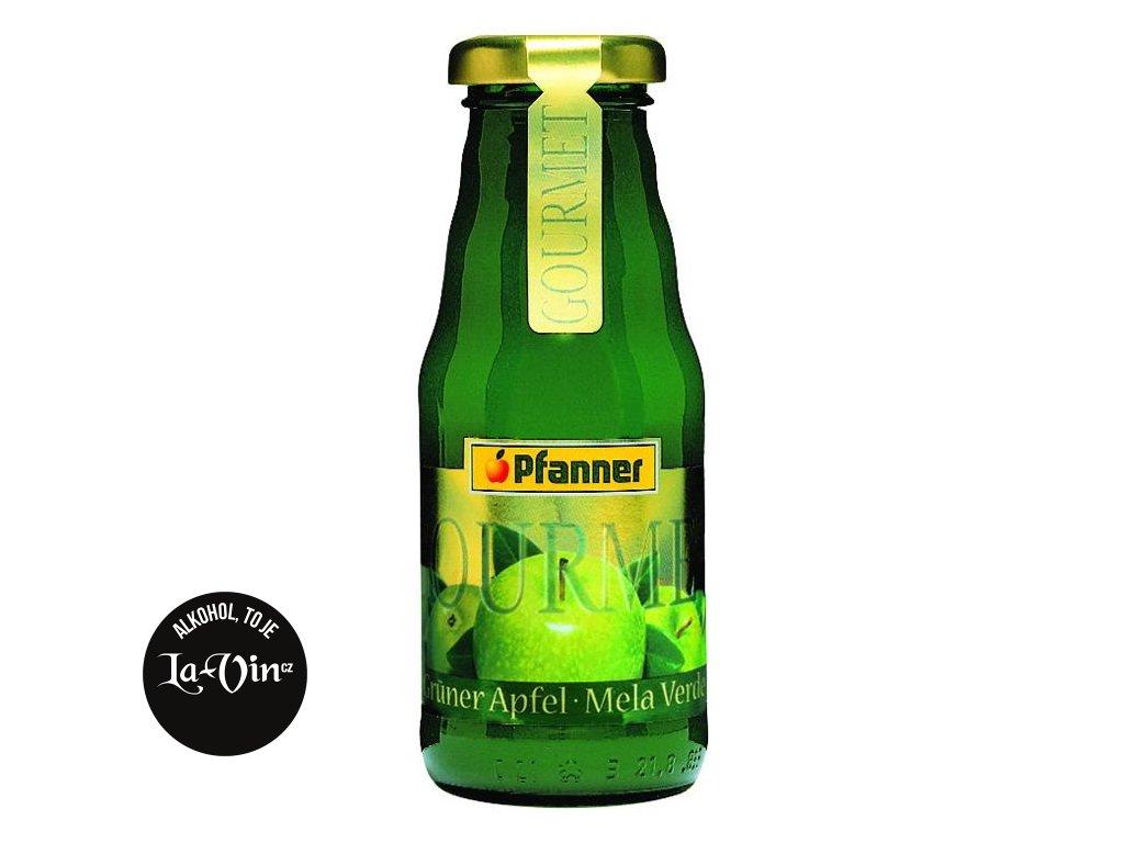 PFANNER GOURMET Zelené jablko  0,2 L
