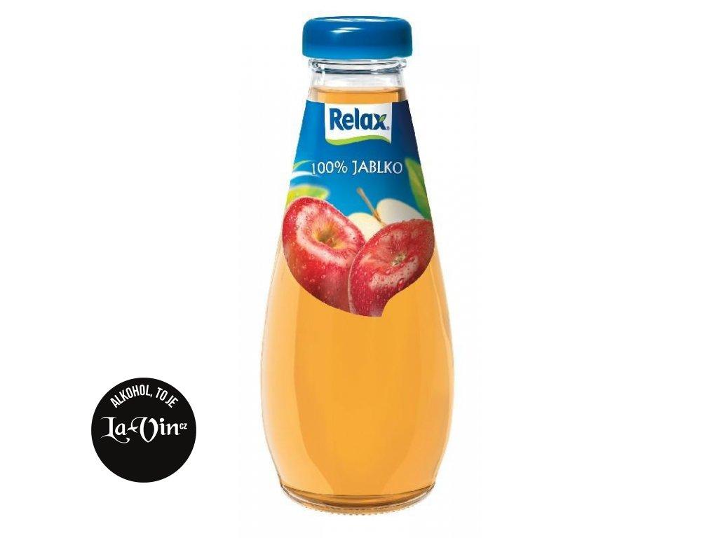 RELAX Jablko 100%  0,25 L