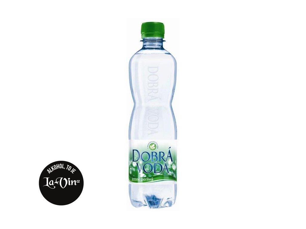 DOBRÁ  VODA  Jemně perlivá 0,5 L