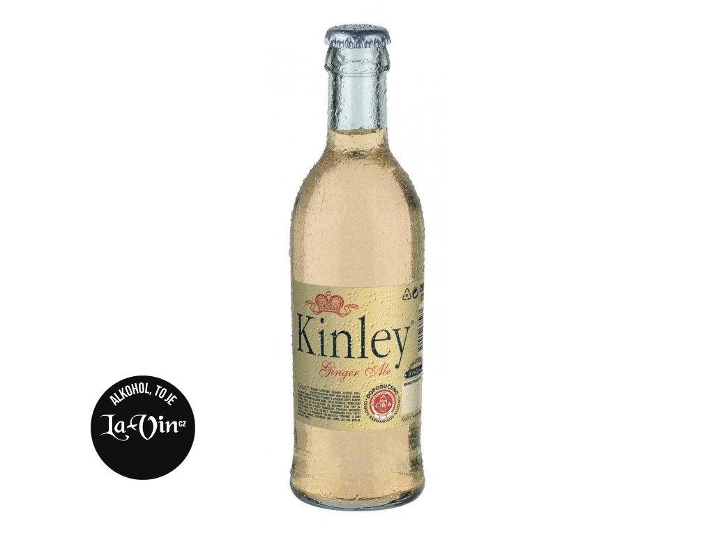 KINLEY TONIC GINGER  ALE  0,25 L