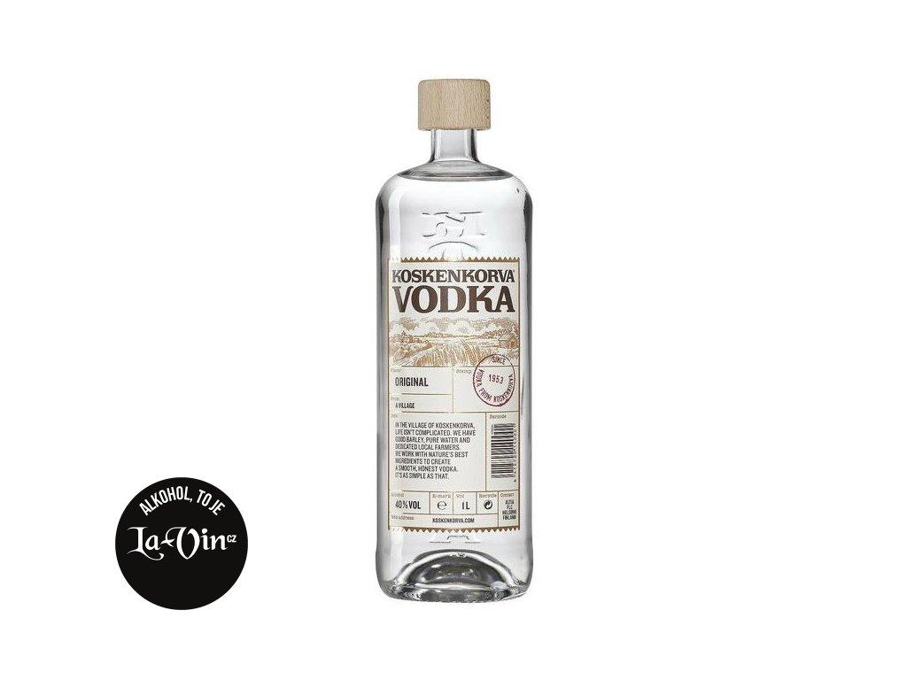 Koskenkorva Vodka čirá 1l