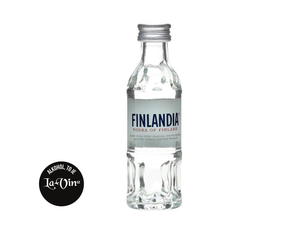 Finlandia vodka 0,05l mini.