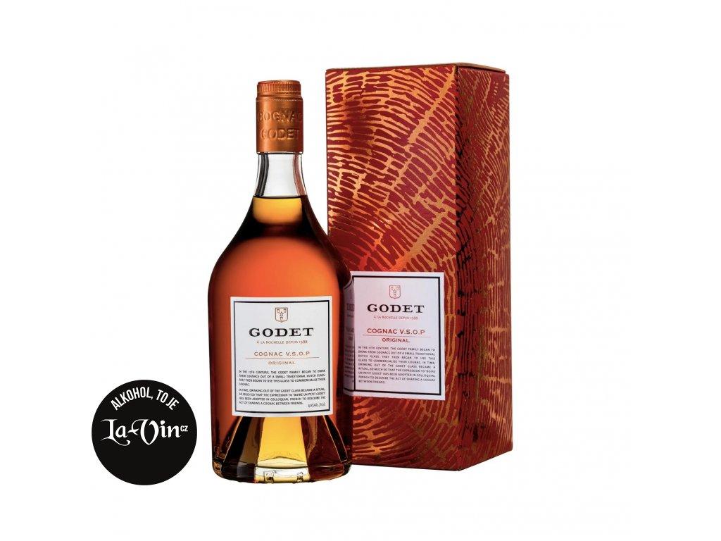 Cognac Godet Original VSOP 0,7l