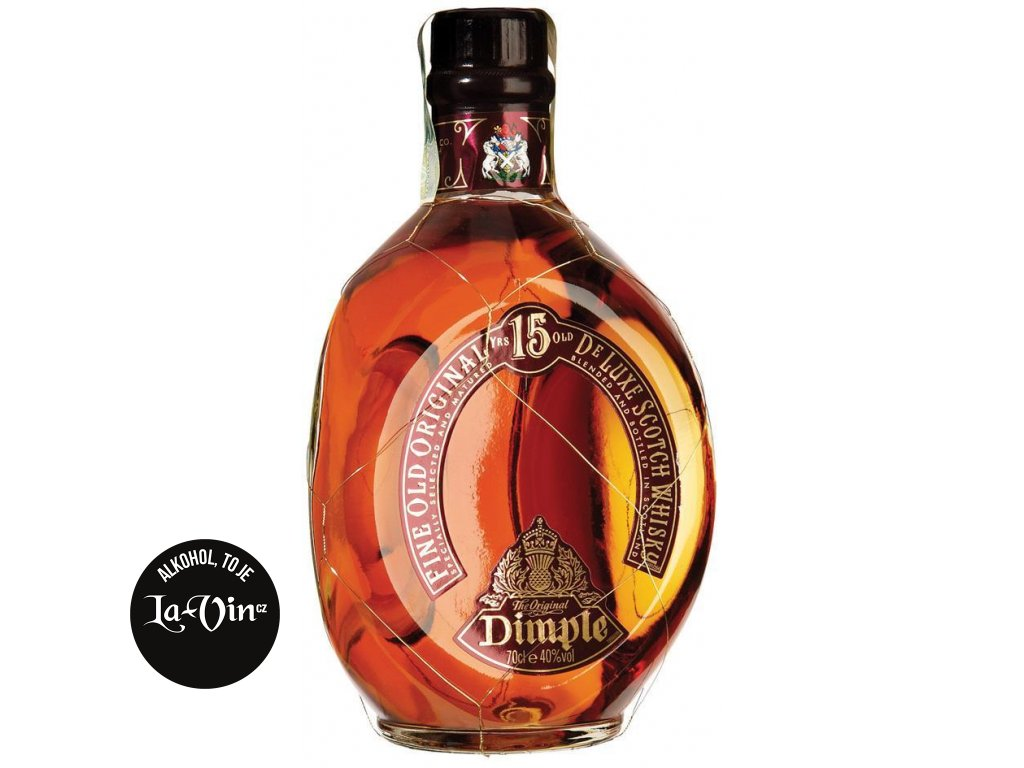 Dimple 15 Years Old Scotch Whisky 0,7l
