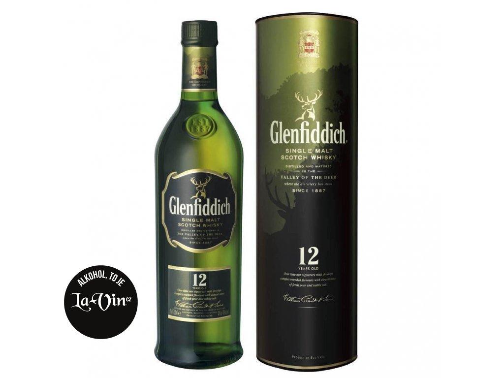 Glenfiddich 12 YO 0,75l