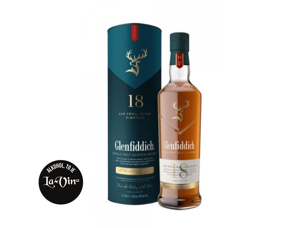 Glenfiddich Ancient Reserve 18 let 700 ml, 40% alk.