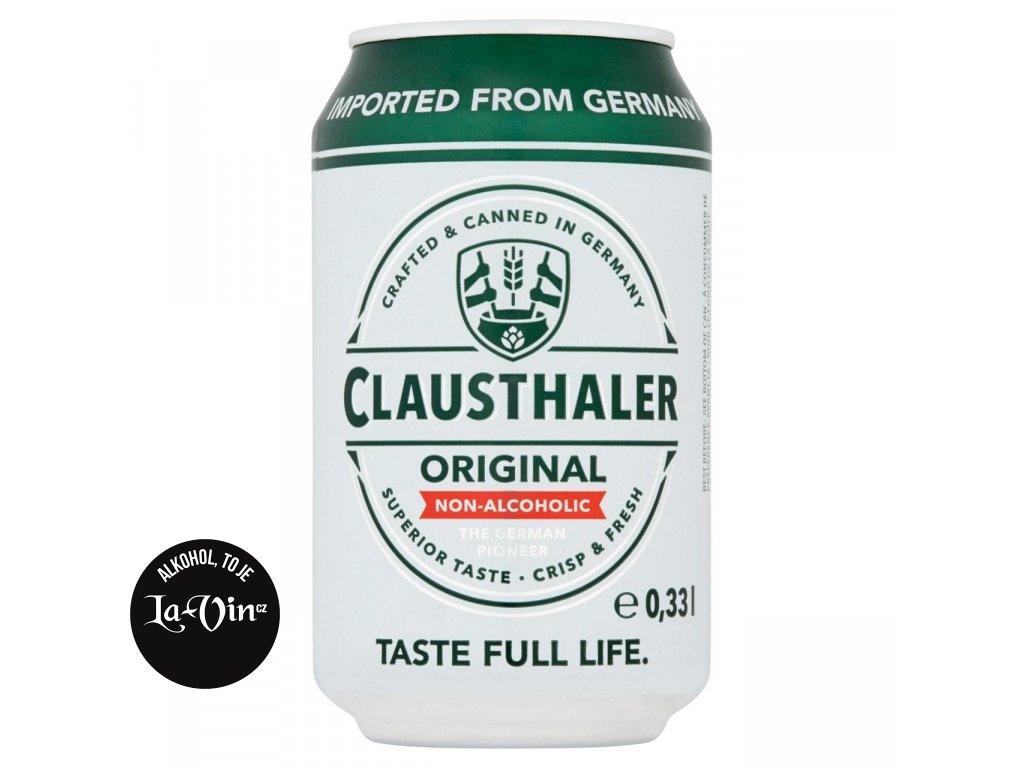 CLAUSTHALER NEALKO 0.33L PLECH