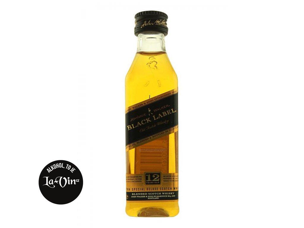Johnnie Walker Black Label 0,05l mini