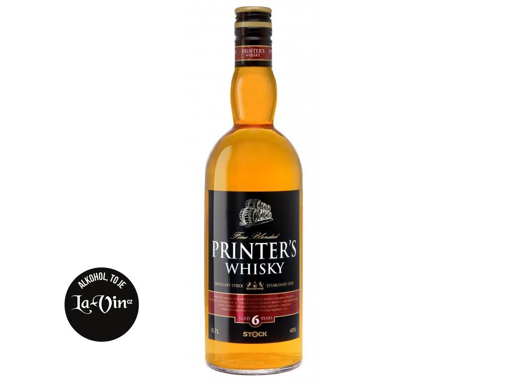Printer's Whisky 0,7l, 40%