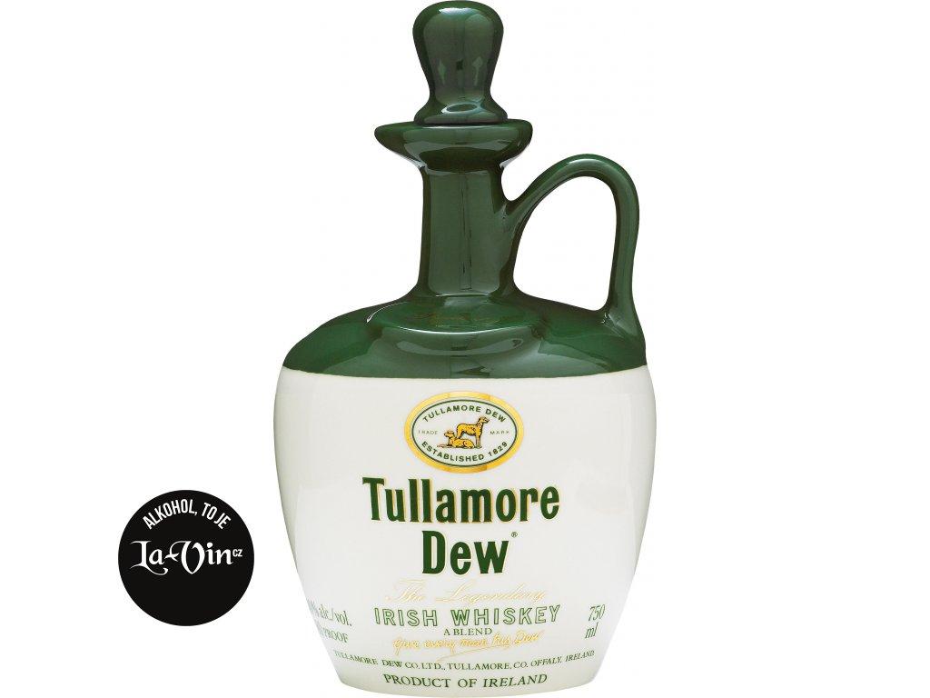 Tullamore Dew 0,7l - porcelánový džbánek