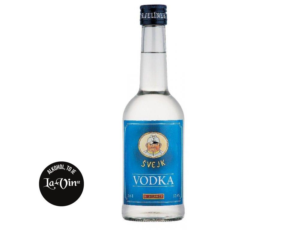 vodka Švejk 37,5% 0,5l R.Jelínek