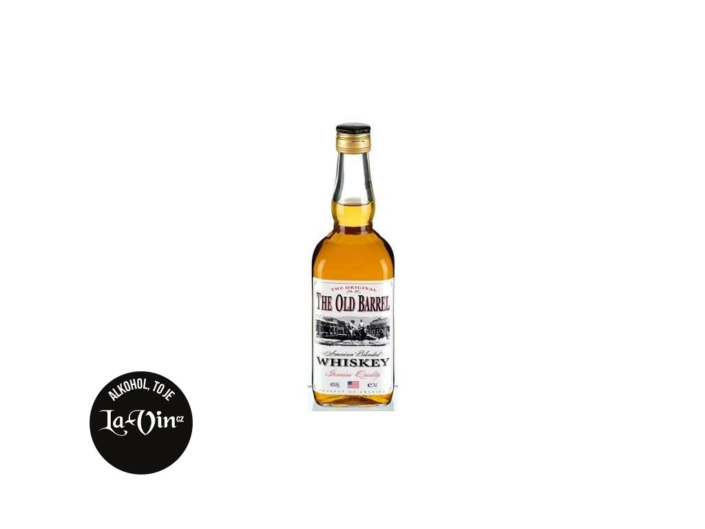 THE OLD BARREL WHISKEY 0,7L