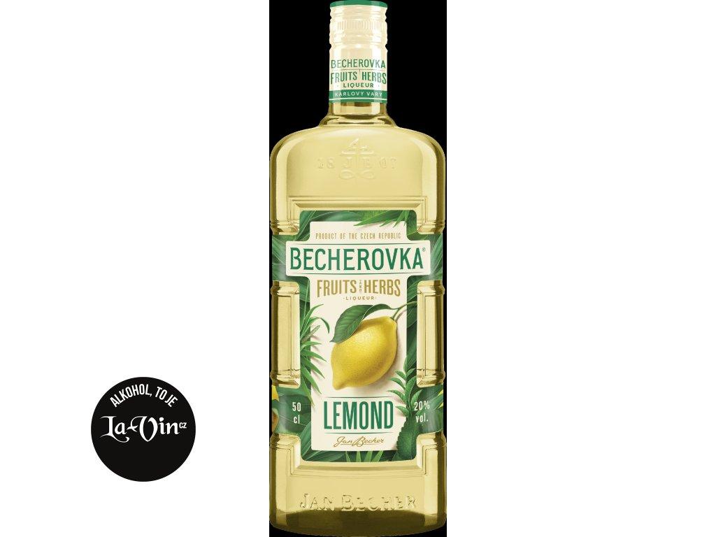 BECHEROVKA LEMOND  0,5 L