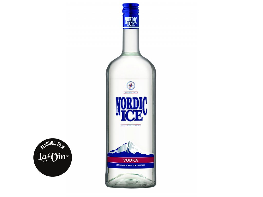 VODKA NORDIC ICE DYNYBYL 1L