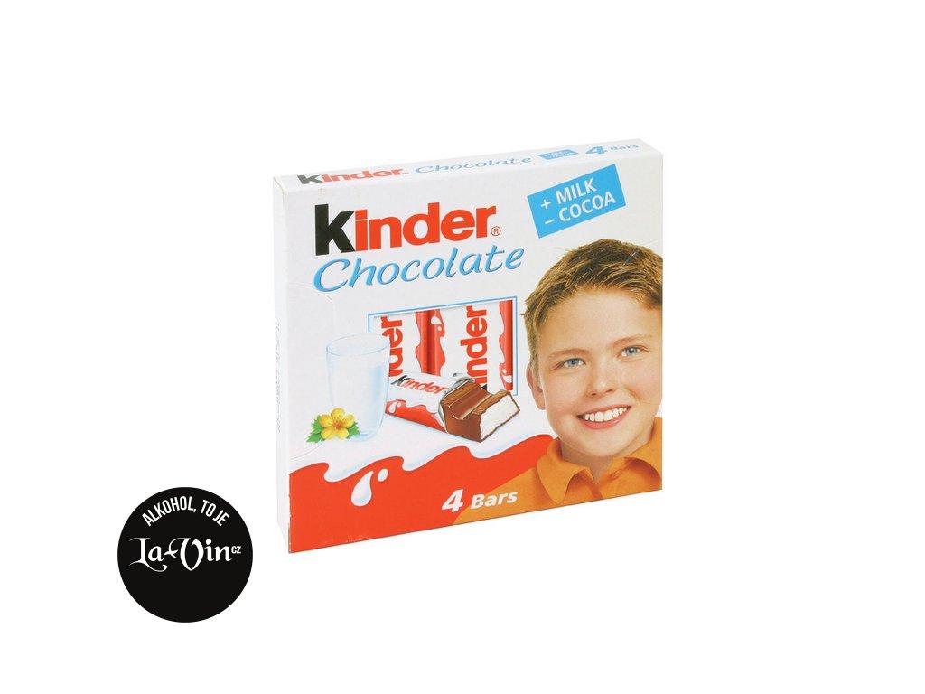 KINDER CHOCOLATE 4 BARS
