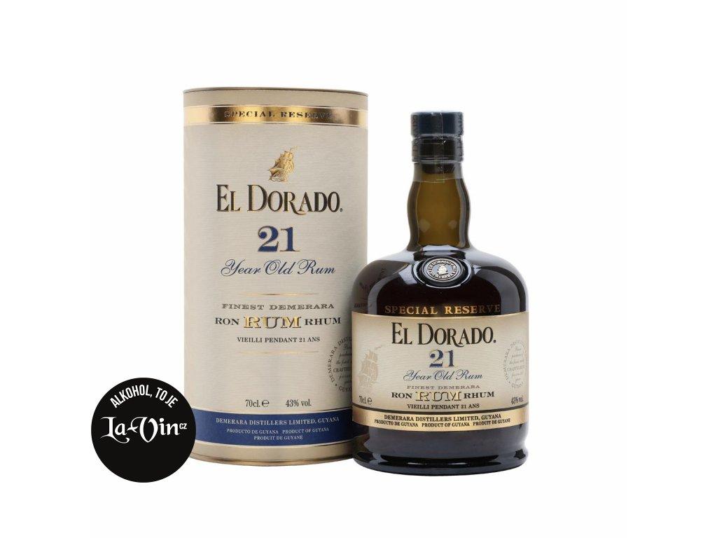 RUM EL DORADO 21Y 43%