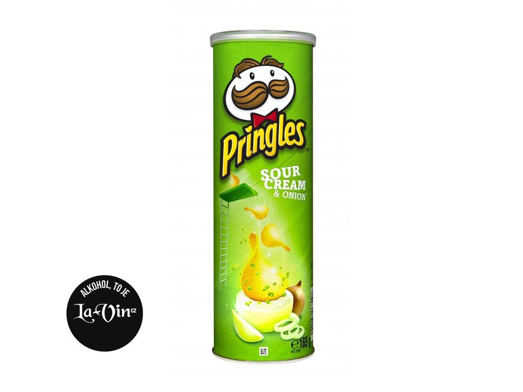 PRINGLES CIBULE-SMETANA 165 G