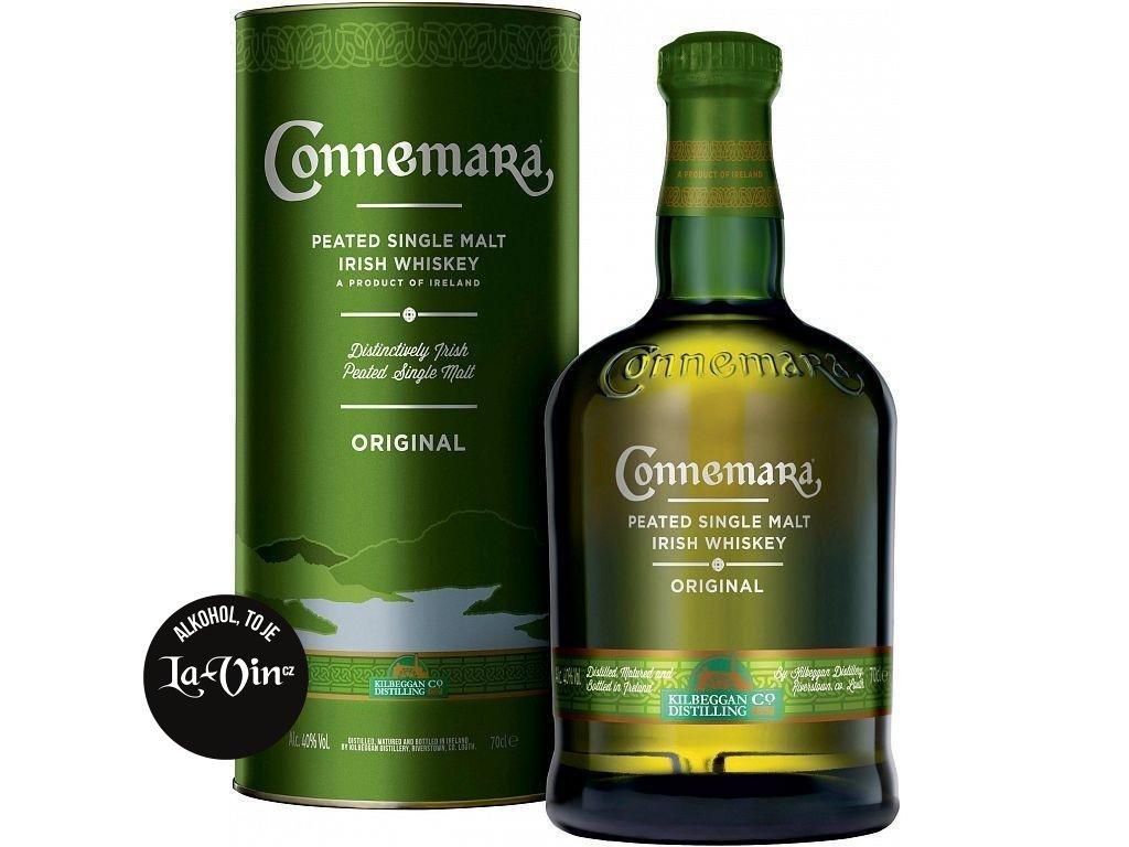 CONNEMARA PEATED IRISH WHISKY 0,7L