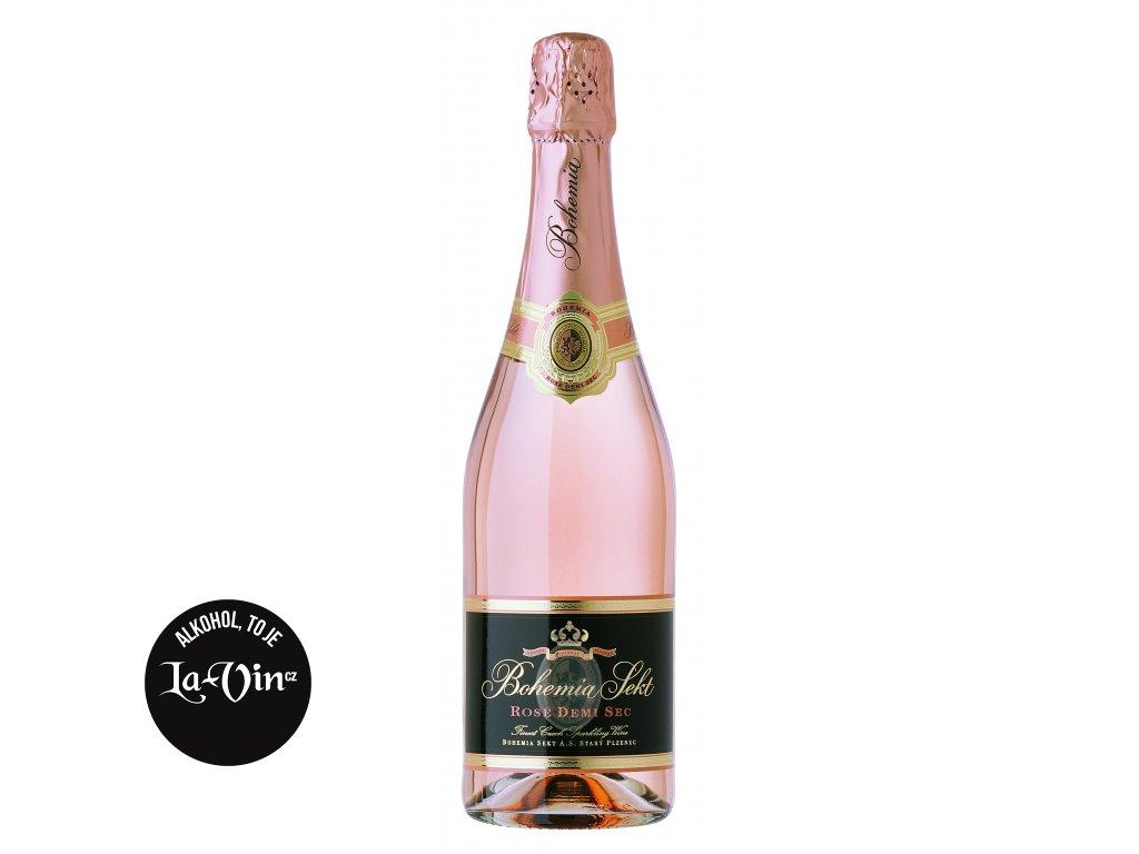 BOHEMIA SEKT Rosé Demi Sec  0,75 L