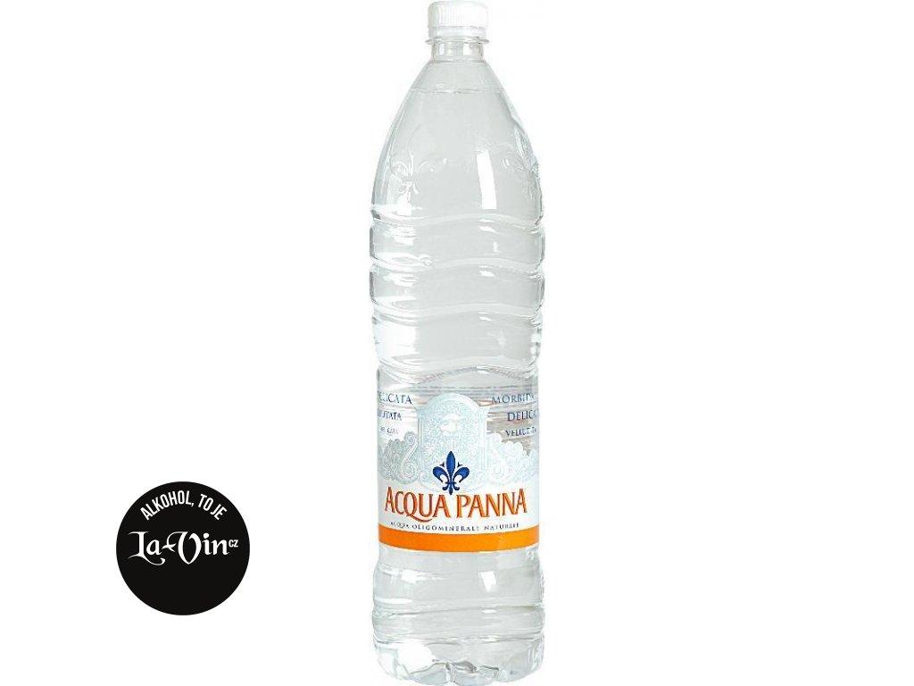 ACQUA PANNA NEPERLIVÁ MINERÁLNÍ VODA 1L PET
