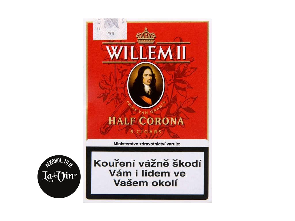DOUTNÍK WILLEM II HALF CORONA
