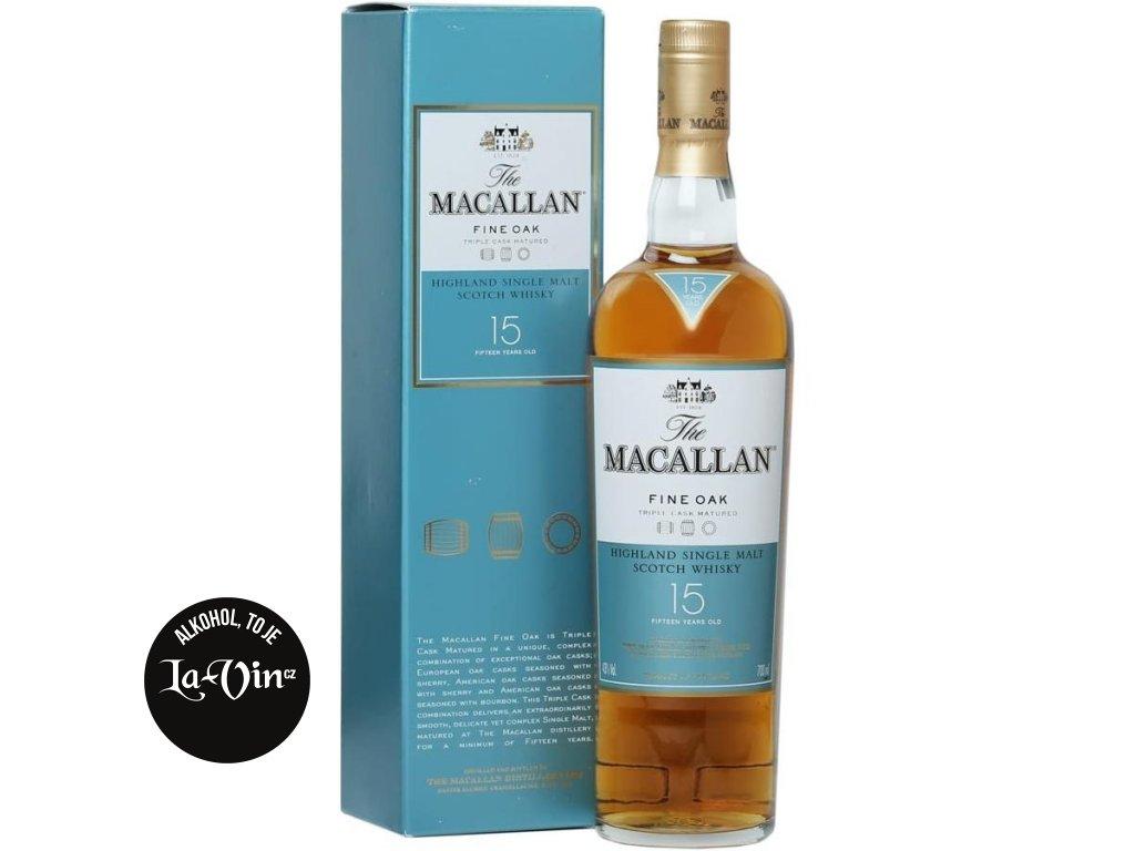 Macallan Fine Oak 15y 0,7l