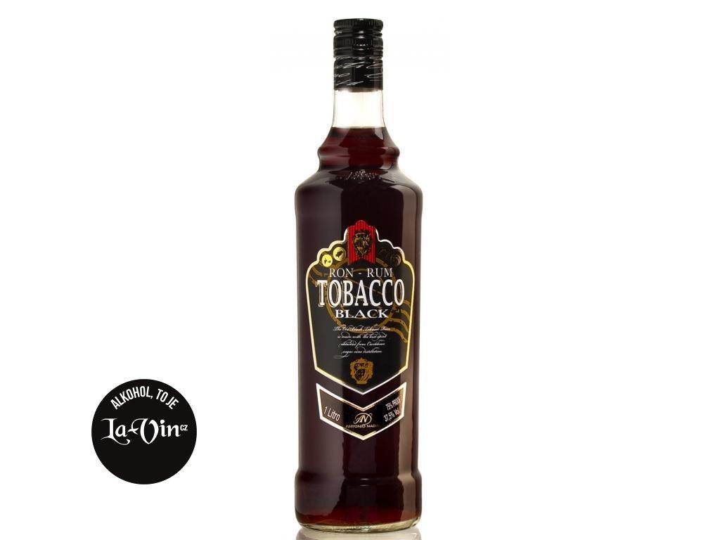 RUM TOBACCO BLACK 37.5% 1L