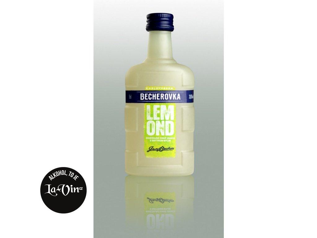 Becherovka Lemond 20% 50ml miniatura