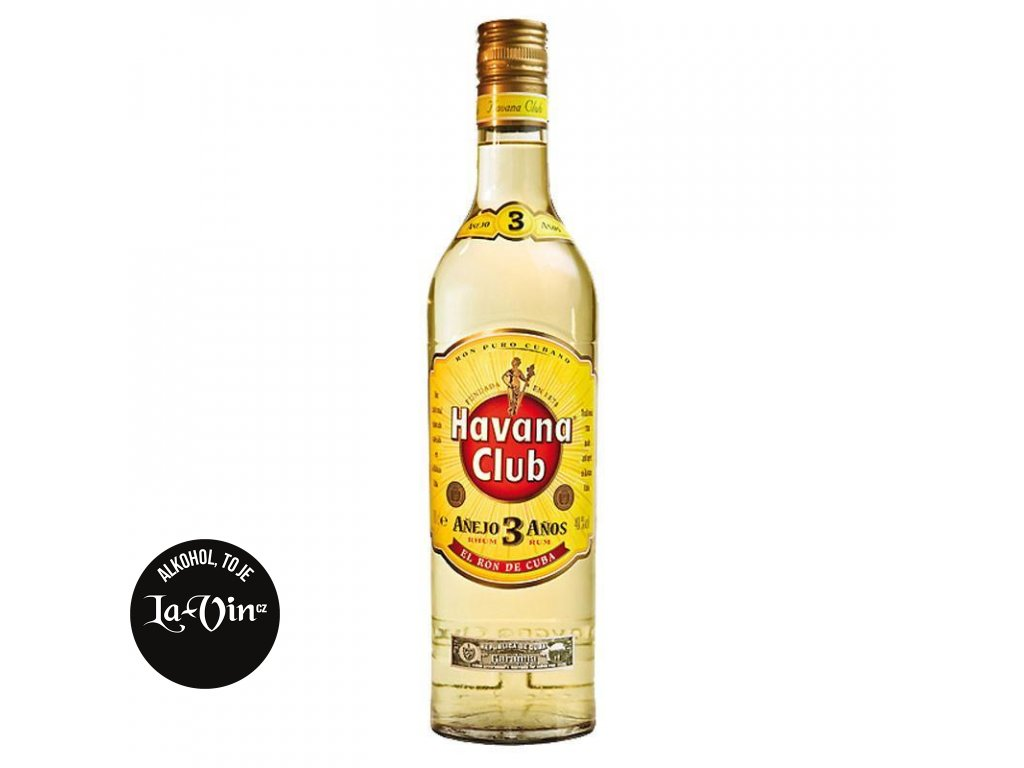 Havana Club Aňejo 3y 1l
