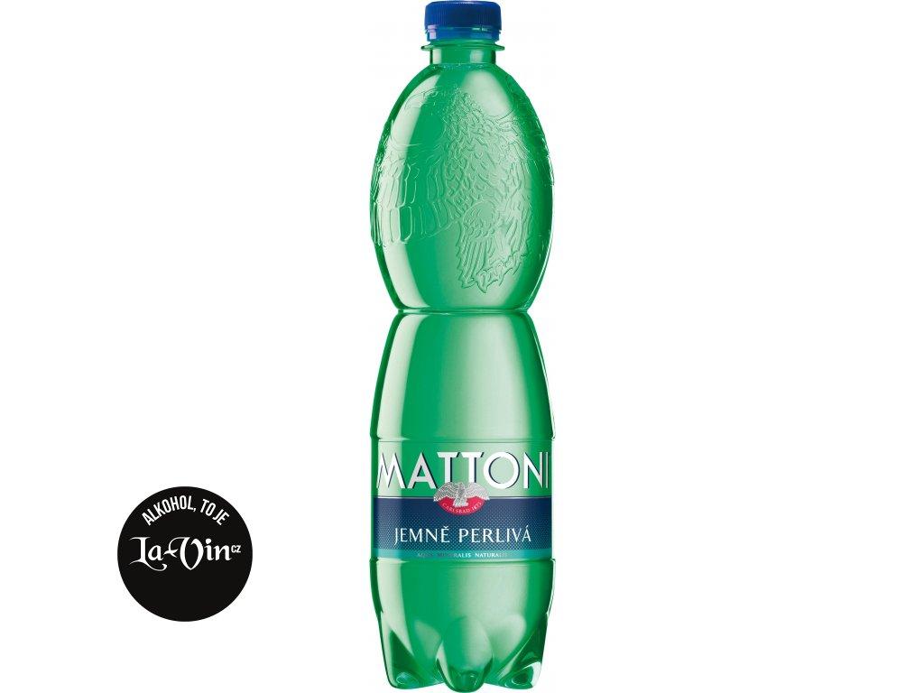 MATTONI PET 0.75L JEMNĚ PERLIVÁ