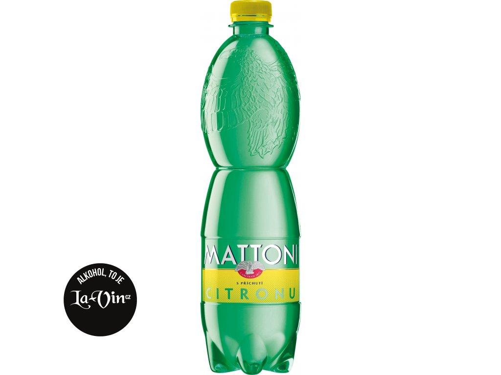 MATTONI PET 0.75L CITRON