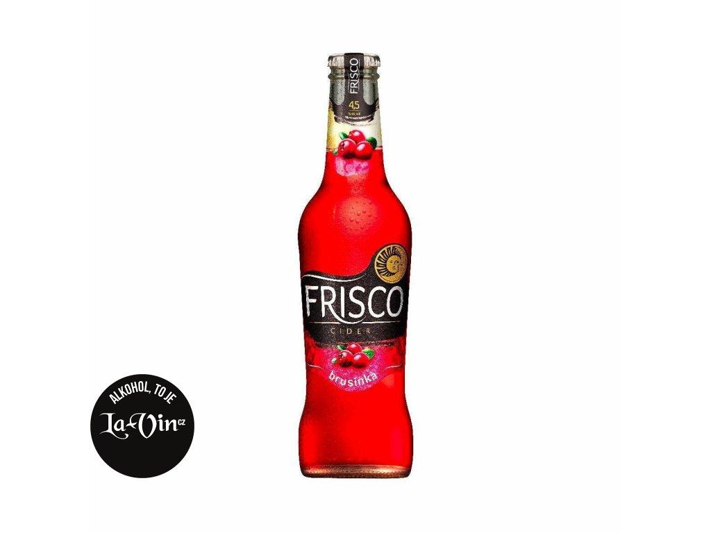 FRISCO BRUSINKA 0.33L SKLO